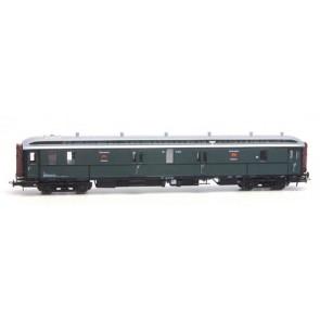 Artitec 20.295.02 - Postwagen  P 7021, groen, zilver dak, IIa-b  train 1:87
