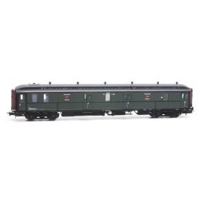 Artitec 20.295.04 - Postwagen  P 7021, groen, grijs dak, IIa-b  train 1:87