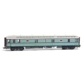 Artitec 20.296.01 - Postwagen  P 7017, turquoise, wit dak, IIIa  train 1:87
