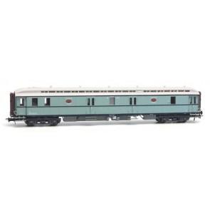 Artitec 20.296.02 - Postwagen  P 7901, turquoise, wit dak, IIIa  train 1:87