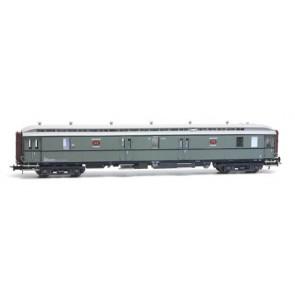 Artitec 20.296.03 - Postwagen  P 7901, Roco turquoise, lichtgrijs dak, IIIa  train 1:87