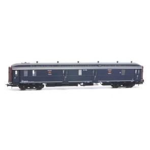 Artitec 20.297.01 - Postwagen  P 7902, blauw, grijs dak, IIIb-c  train 1:87