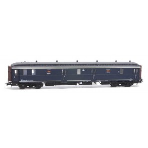 Artitec 20.297.02 - Postwagen  P 7903, blauw, grijs dak, IIIb-c  train 1:87