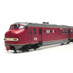 Artitec 20.353.01 - Plan U 139, rood+grijze deuren+vignet, DC Analoog, IVa  train 1:87
