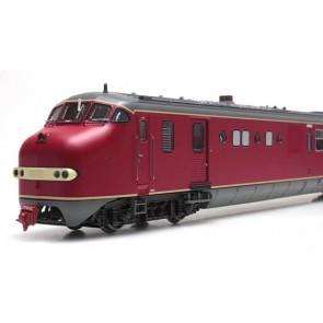 Artitec 20.356.01 - Plan U 114, rood+ grijze deuren MUSEUMVERSIE, DC Analoog, VI  train 1:87