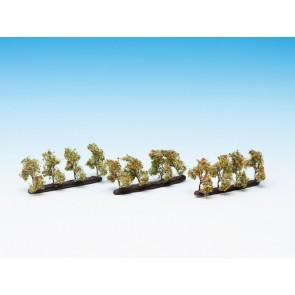 Noch 21537 - Plantagenbäume mit Äpfeln, 24 Stück, 2 cm hoch