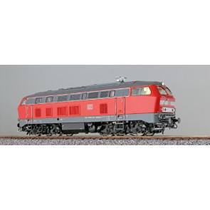 Esu 31013 - Diesellok, H0, BR 218 196, verkehrsrot, EP VI, Vorbildzustand um 2008, LokSound, Raucherzeuger, AC+DC
