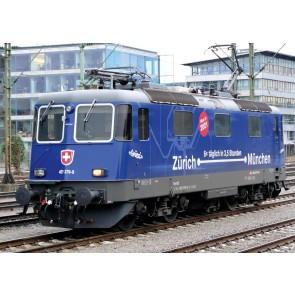 """Marklin 37473 - E-loc serie 421 """"Zurich-Munchen"""", SBB NOG 3 RESERVEERBAAR!"""