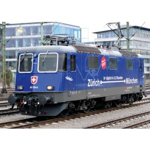 """Trix 22666 - E-loc serie 421 """"Zurich-Munchen"""", SBB NOG 1 RESERVEERBAAR!"""