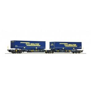 Roco 67414 - Doppeltwg.T2000 LKW Walter