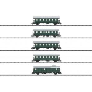 Trix 23308 - Donnerbüchsen-Set, 5 Wagen, DB, Ep. IIIa (voor insider leden)