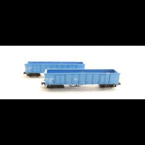 Hobbytrain H23419 - 2 goederenwagens Eanos Cronifer OP=OP!