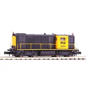 Piko 40423 - N-Dieselloc NS-2454 geel-grijs IV + Sound-dig OP=OP!