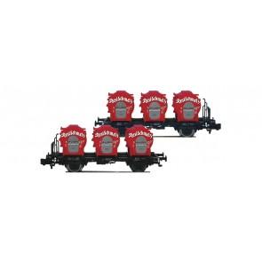 Fleischmann 823302 - Doppel-EH.Behältertransportwag