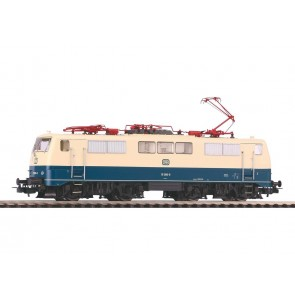 Piko 51847 - ~ E-Lok BR 111 DB ozeanblau-beige IV + PluX22 Dec.