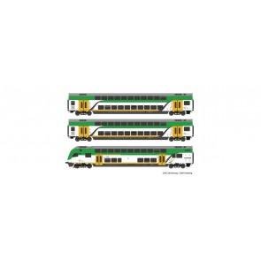 Roco 74160 - 3er Set Doppelstock Koleje