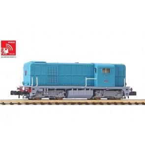 Piko 40421 - N-Dieselloc 2412 blauw NS III SOUND
