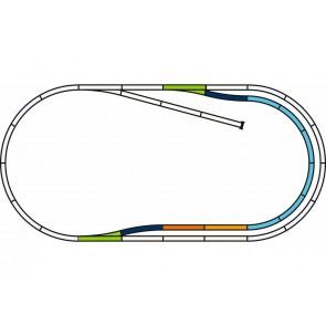 Piko 55321 - PIKO A-Gleis mit Bettung Gleis Set C