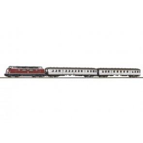 Piko 59020 - SmartControl light Start-Set DB Personenzug BR 220 mit 2 Wagen A-Gleis mit Bettung IV