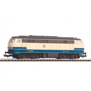 Piko 57803 - ~Diesellok BR 218 DB beige-blau IV + 8pol. Dec. mfx-fähig