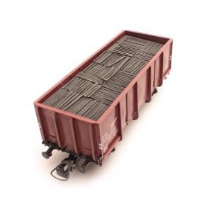 Artitec 28.107 - GTU vulplanken mijnbouw  train 1:87