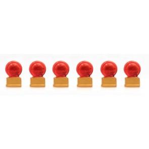 Artitec 28.116 - Rode knipperbollen (6x)