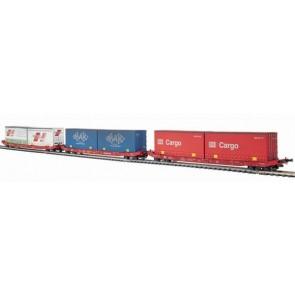 Mehano 30407 - 3 containerwagens OP=OP!