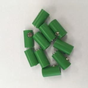 Brawa 3043 - Muffen rund, grün [10 Stück]
