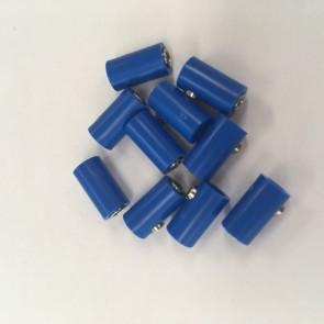 Brawa 3045 - Muffen rund, blau [10 Stück]
