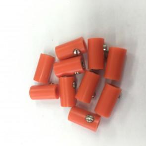 Brawa 3046 - Muffen rund, orange [10 Stück]