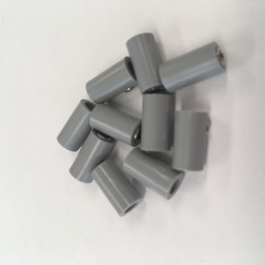 Brawa 3047 - Muffen rund, grau [10 Stück]