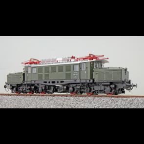 Esu 31125 - E-Lok, H0, BR E94, E94 128, DB, Ep III, grün, Vorbildzustand um 1967, LokSound, Pantoantrieb, DC/AC
