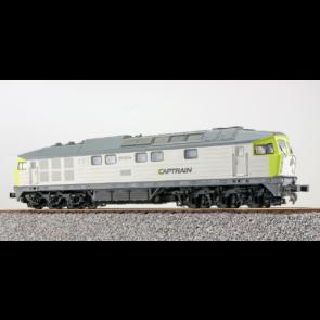 Esu 31164 - Diesellok, H0, BR 132, BR 232-04, Captrain Ep VI, grau-hellgrün, Vorbildzustand um 2016 LokSound, Raucherzeuger, DC/AC