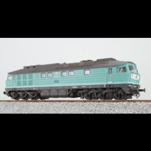 Esu 31165 - Diesellok, H0, BR 132, 234 304, DB Ep V, minttürkis, Vorbildzustand um 1995, LokSound, Raucherzeuger,  DC/AC