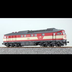 Esu 31166 - Diesellok, H0, BR 132, 622.01, EVB Ep V, rot-creme, Vorbildzustand um 2000, LokSound, Raucherzeuger,  DC/AC