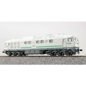 Esu 31167 - Diesellok, H0, BR 132, W 232-09, ITL Ep VI,silber, Vorbildzustand um 2010, LokSound, Raucherzeuger,  DC/AC