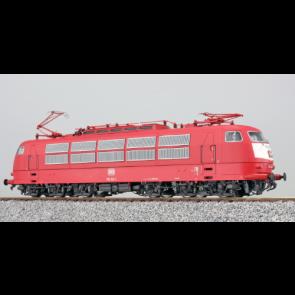 Esu 31172 - E-Lok, H0, E03, 103 163, DB Ep V, Orientrot, Vorbildzustand um 1991, Sound + Panto, DC/AC