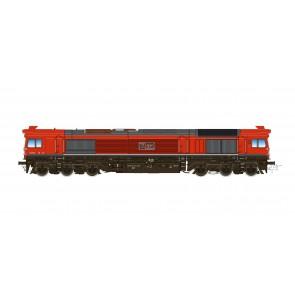 Esu 31286 - Diesellok H0, C77 MEG 077 012, Ep VI, Vorbildzustand um 2018, Verkehrsrot, Sound+Rauch, DC/AC