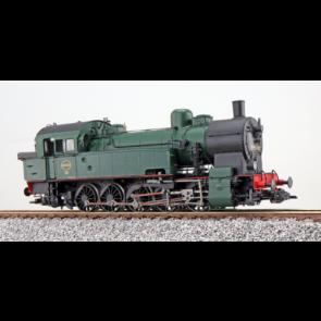 Esu 31296 - Dampflok, H0, T16.1, 98 040, SNCB, Ep III, schwarz-grün, Vorbildzustand um 1954, LokSound, Raucherzeuger, Rangierkupplung, DC/AC