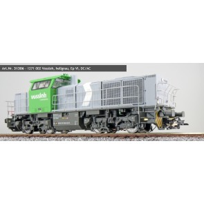 Esu 31306 - Diesellok, H0, G1000, 1271 002 Vossloh, Hellgrau, Ep VI, Vorbildzustand um 2015, Sound, Rangierkupplung, DC/AC