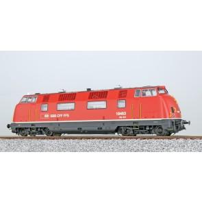 Esu 31332 - Diesellok, H0, Am 4/4, 18463 SBB, feuerrot, Epoche V, Vorbildzustand 1989, LokSound, Raucherzeuger, DC/AC