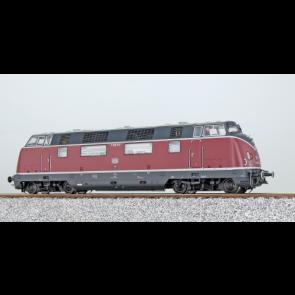 Esu 31333 - Diesellok, H0, BR V200, V200 010, DB, Altrot, Epoche III, Vorbildzustand um 1966, LokSound, Raucherzeuger, DC/AC