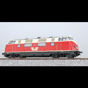 Esu 31334 - Diesellok, H0, V200, 417 01 EVB, Rot-Beige, Ep. V, Vorbildzustand um 2003, Sound+Rauch, DC/AC
