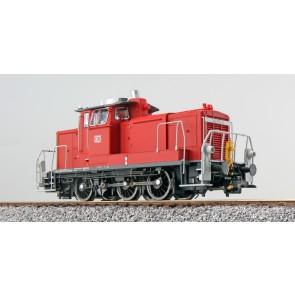 Esu 31412 - Diesellok, H0, BR V60, 362 873, verkehrsrot, DB Ep. VI, Vorbildzustand um 2014, LokSound, Raucherzeuger, Rangierkupplung, DC/AC