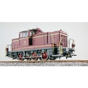 Esu 31415 - Diesellok, H0, BR V60, V60 615, altrot, EP III, Vorbildzustand um 1963, LokSound, Raucherzeuger, Rangierkupplung, DC/AC