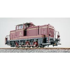 Esu 31417 - Diesellok, H0, V60, 261 660, altrot, DB Ep. IV, Vorbildzustand um 1971, LokSound, Raucherzeuger, Rangierkupplung, DC/AC