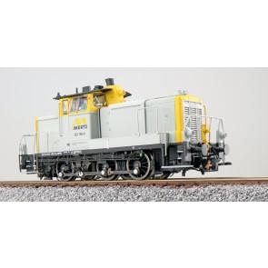 Esu 31421 - Diesellok, H0, BR V60, 363 168, grau-gelb, Mertz Ep. VI, Vorbildzustand um 2013, LokSound, Raucherzeuger, Rangierkupplung, DC/AC