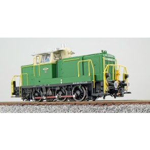 Esu 31424 - Diesellok, H0, BR V60, 360 573, grün, BE Ep. VI, Vorbildzustand um 2017, LokSound, Raucherzeuger, Rangierkupplung, DC/AC