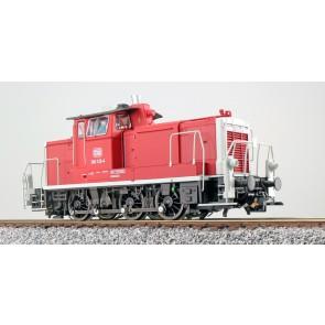 Esu 31426 - Diesellok, H0, BR V60, 360 123, orientrot, DB Ep. IV, Vorbildzustand um 1992, LokSound, Raucherzeuger, Rangierkupplung, DC/AC