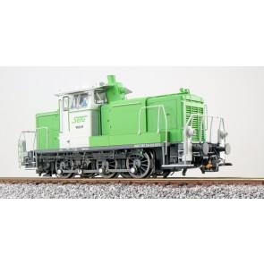 Esu 31428 - Diesellok, H0, BR V60, V60.01, grün-weiß, SETG Ep. VI, Vorbildzustand um 2018, LokSound, Raucherzeuger, Rangierkupplung, DC/AC